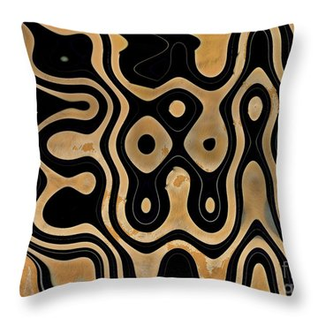 Dog Show Throw Pillow by Tom Hubbard