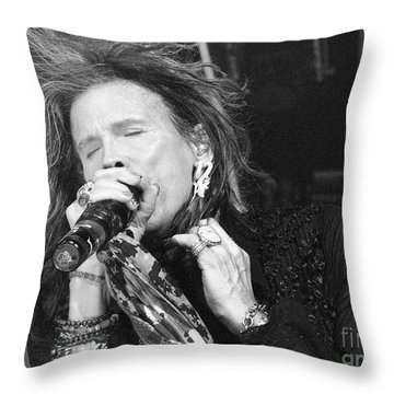 Don't Want To Miss A Thing Throw Pillow by Traci Cottingham