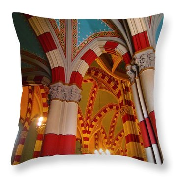 Dulce Iglesia Throw Pillow by Skip Hunt