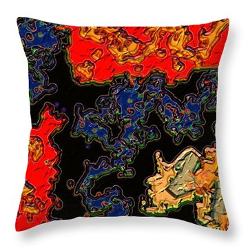 East Meets West Throw Pillow by Alec Drake