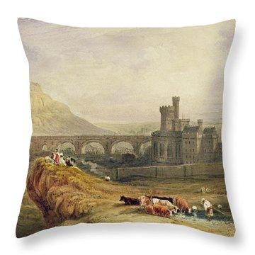 Edinburgh Throw Pillow by Thomas Brabazon Aylmer