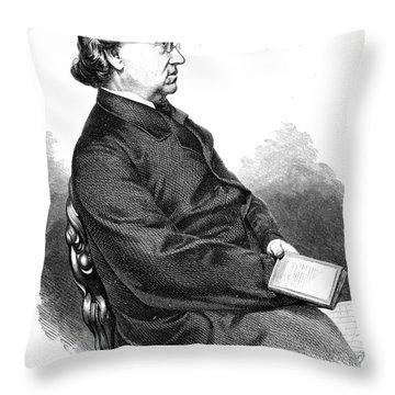 Eduard Moerike (1804-1875) Throw Pillow by Granger