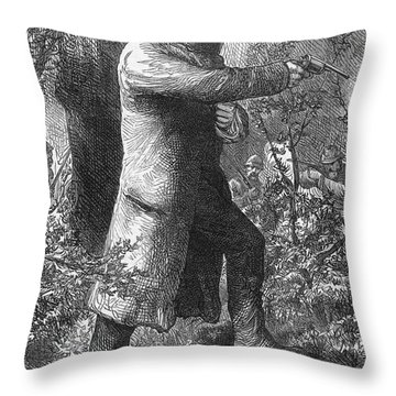 Edward (ned) Kelly Throw Pillow by Granger