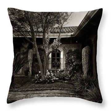 El Sitio Throw Pillow by Tom Bell