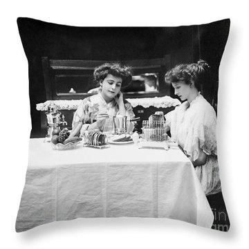Electric Cookware, 1908 Throw Pillow by Granger