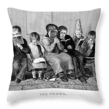Elementary School Throw Pillow by Granger