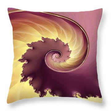 Empire Throw Pillow by Richard Kelly