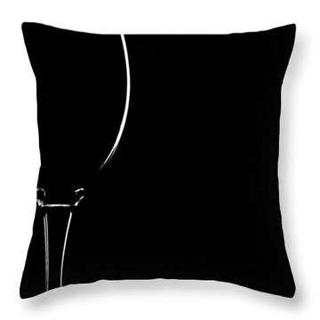 Empty Space Throw Pillow by Gert Lavsen