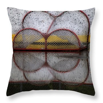 End Of The Season Throw Pillow by Andrew Fare