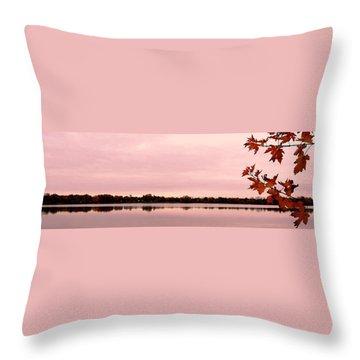 Enjoy Fall ... Throw Pillow by Juergen Weiss