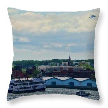 Enterprise 8 Throw Pillow by S Paul Sahm