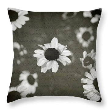 Even In Darker Days Throw Pillow by Laurie Search
