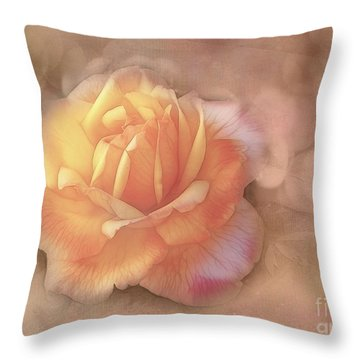 Faded Memories Throw Pillow by Judi Bagwell