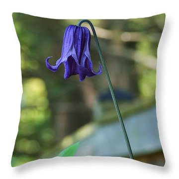Fairy Bell Throw Pillow by Mary Zeman