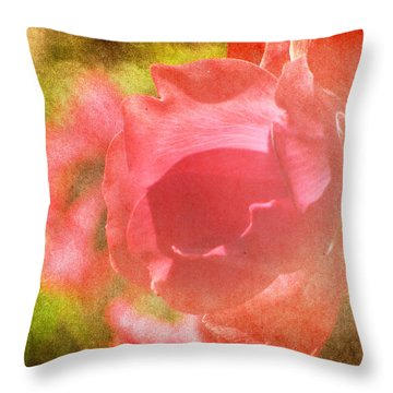 Falling In Love Throw Pillow by Amy Tyler