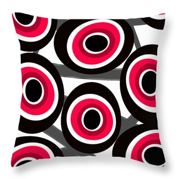 Fashion Spots  Throw Pillow by Louisa Knight