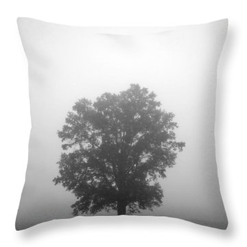 Feeling Small Throw Pillow by Amanda Barcon