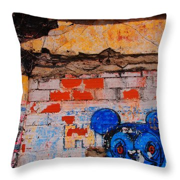 Felipe Throw Pillow by Skip Hunt