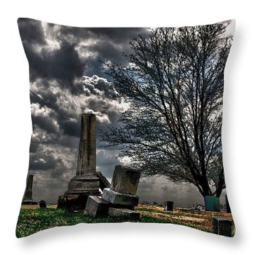 Final Vision Throw Pillow by Alan Look