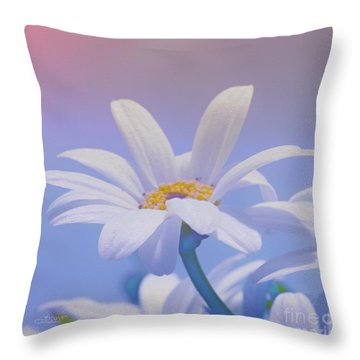 Flower For You Throw Pillow by Jutta Maria Pusl