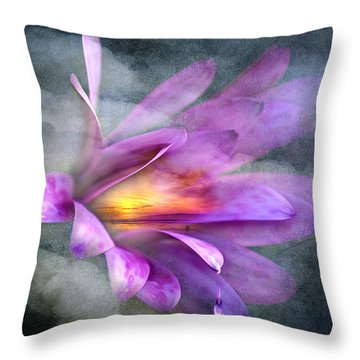 Flower Spirit Throw Pillow by Svetlana Sewell