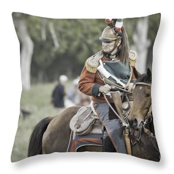 For A Brief Moment Throw Pillow by Kim Henderson