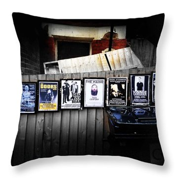 For Your Pleasure Throw Pillow by Charles Stuart