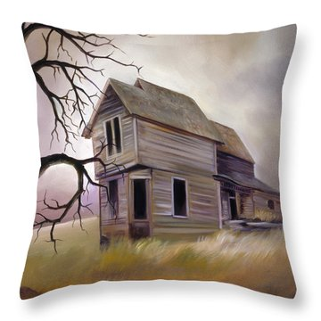 Forgotten But Not Gone Throw Pillow by James Christopher Hill