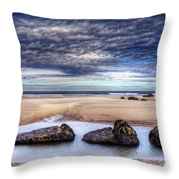 Four Throw Pillow by Svetlana Sewell