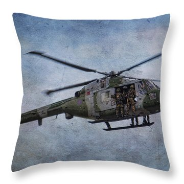 Fours Up Throw Pillow by Dave Godden