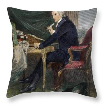 Francis Hopkinson Throw Pillow by Granger