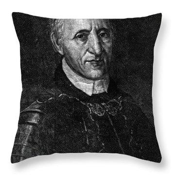 Fran�ois Coulon De Villiers Throw Pillow by Granger
