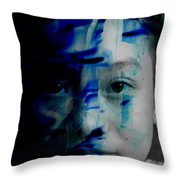 Free Spirited Creativity Throw Pillow by Christopher Gaston