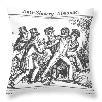 Freedman Enslaved, 1839 Throw Pillow by Granger