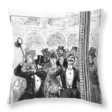 French Fair, 1889 Throw Pillow by Granger