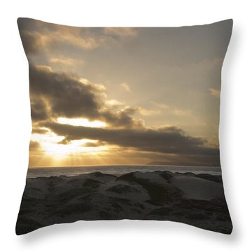 From Above Throw Pillow by Heidi Smith