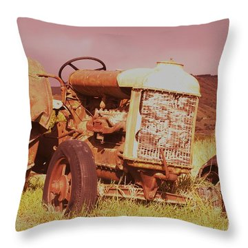 From Harvests Gone By   Throw Pillow by Jeff Swan