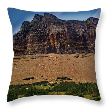 From Logan Pass Throw Pillow by Marty Koch