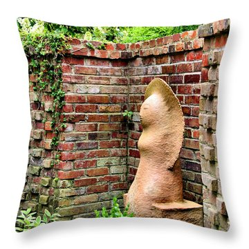 Garden Art Throw Pillow by Kristin Elmquist