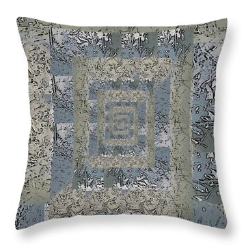 Go With The Floe 6 Throw Pillow by Tim Allen