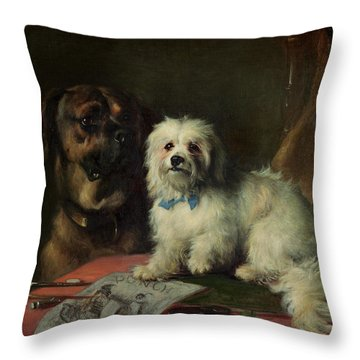Good Companions Throw Pillow by Earl Thomas