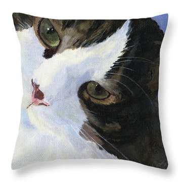 Harley Throw Pillow by Lynne Reichhart