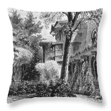 Hartford: Armsear Mansion Throw Pillow by Granger