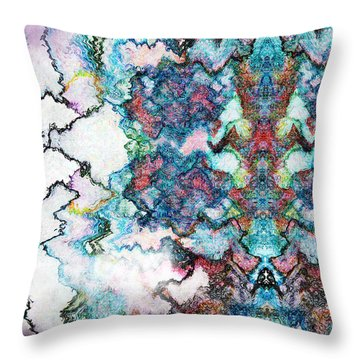 Hazed Dreams Throw Pillow by Christopher Gaston