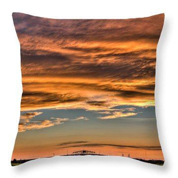 High Pressure Dominating Throw Pillow by Andrew Crispi