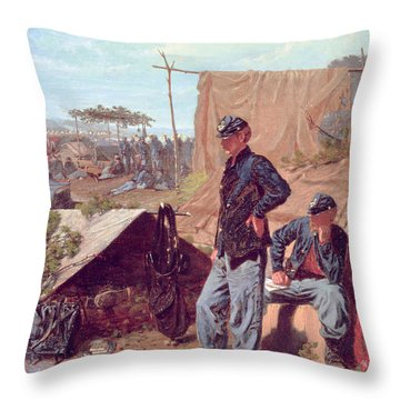 Home Sweet Home Throw Pillow by Winslow Homer