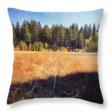 I Roam Throw Pillow by Laurie Search