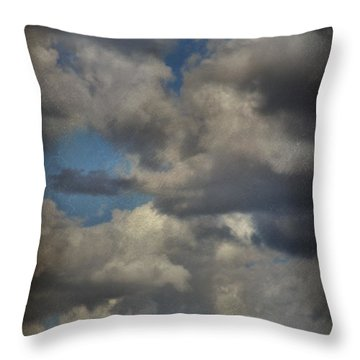 If The World Ends Today Throw Pillow by Laurie Search