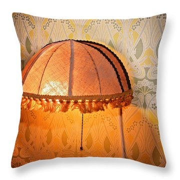 Illumination Throw Pillow by Susan Leggett