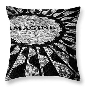 Imagine Throw Pillow by Ken Marsh